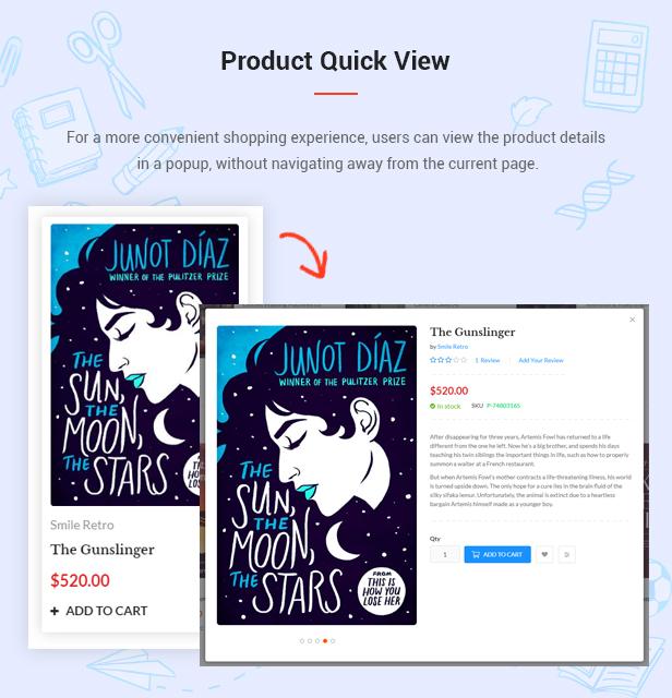 AmaBook - MultiPurpose Responsive Magento Theme - 8
