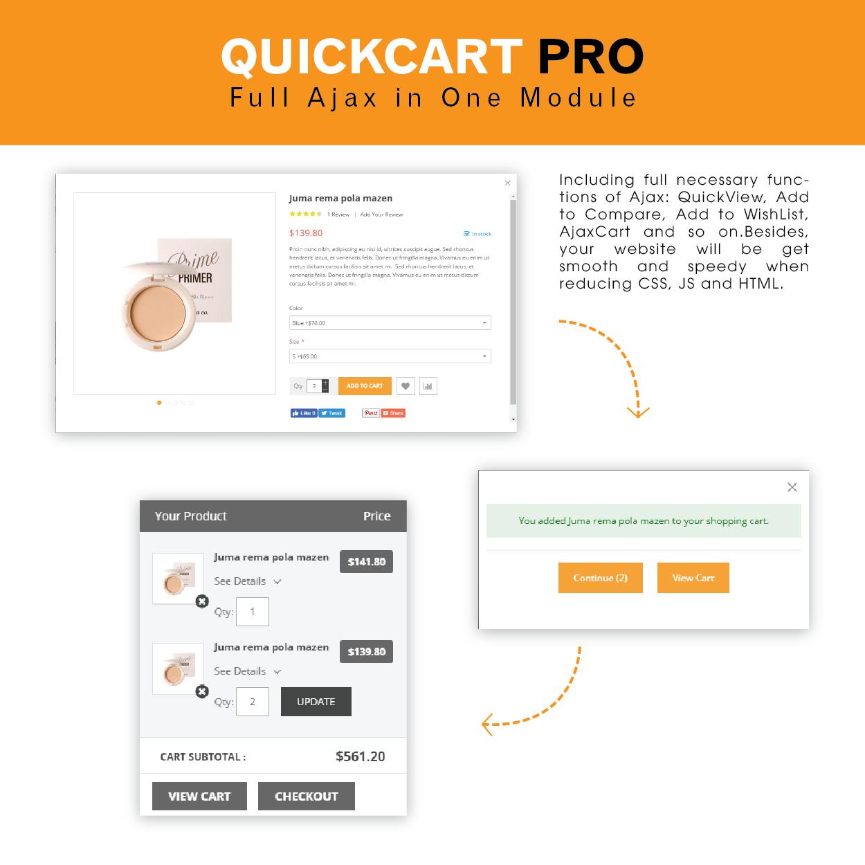 QuickCart Pro