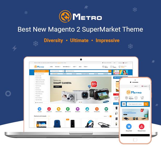 Metro Magento Theme