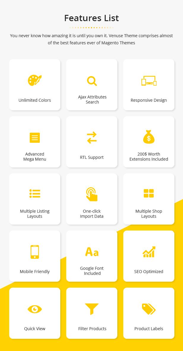 Venuse - Responsive Hitech/Digital Magento 2 Store Theme - 14
