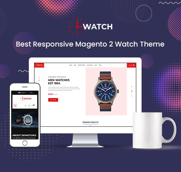 Watch - Multipurpose Responsive Magento 2 Theme - 1