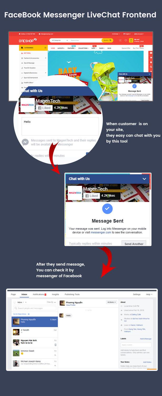 Facebook Messenger - Opencart 3 & 2 Extension