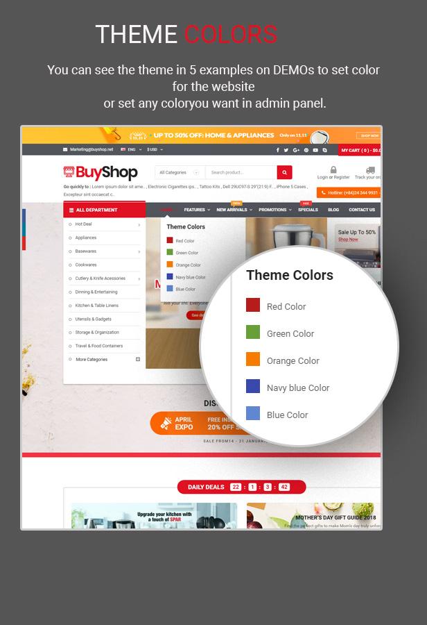 buyshop - Opencart Theme