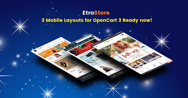 etrostore - Opencart Theme