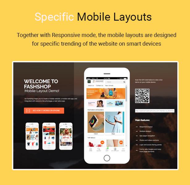 fashshop - Opencart Theme