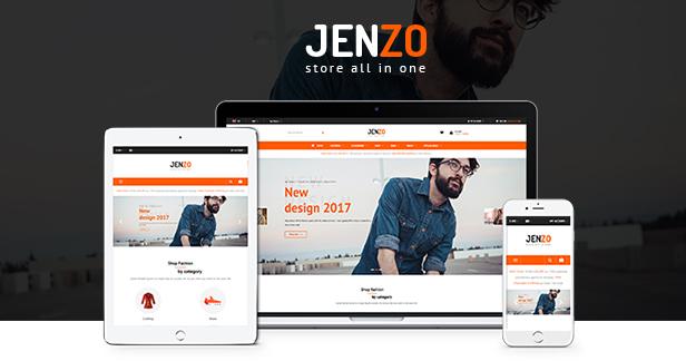 jenzo - Opencart Theme