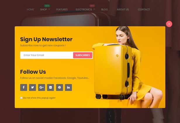 Maximum - Responsive PrestaShop 1.7 eCommerce Theme | Suitcase Store | Headphone Store - 9