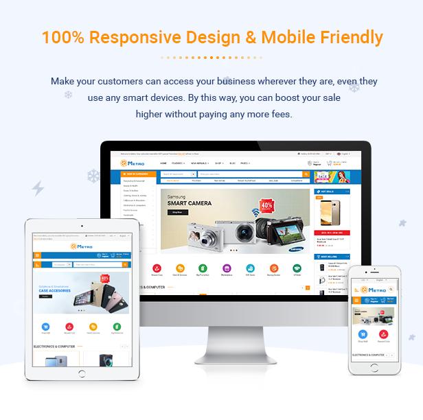 Metro - Multipurpose Responsive MarketPlace PrestaShop 1.7 Theme - 4