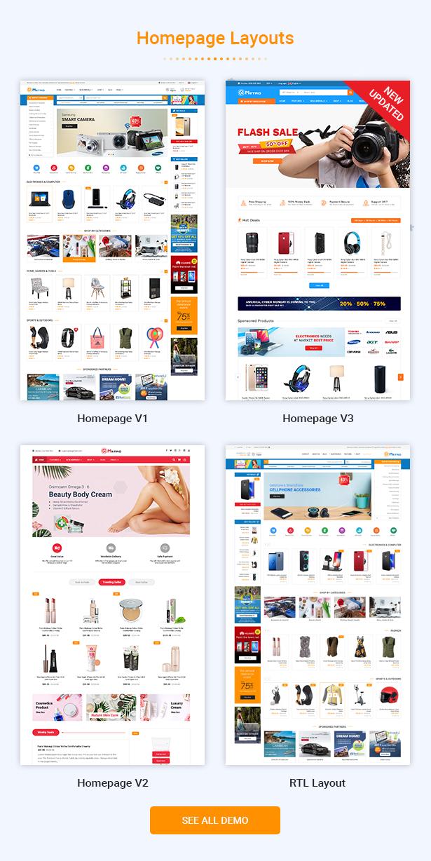 Metro - Multipurpose Responsive MarketPlace PrestaShop 1.7 Theme - 2