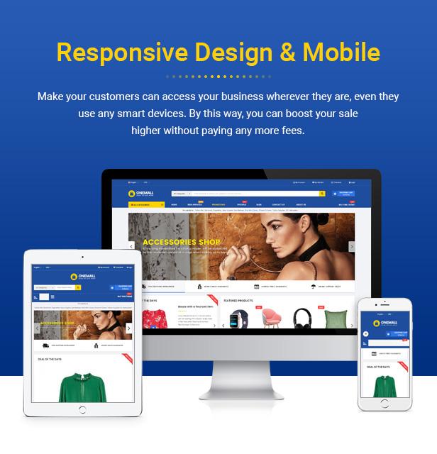 OneMall - Responsive PrestaShop 1.7 Multipurpose Theme - 2