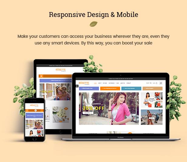Rosette - Beauty Responsive PrestaShop 1.7 Fashion Theme - 2