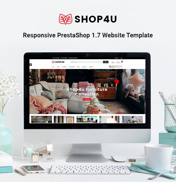 Shop4U - Store PrestaShop 1.7 eCommerce Theme - 1