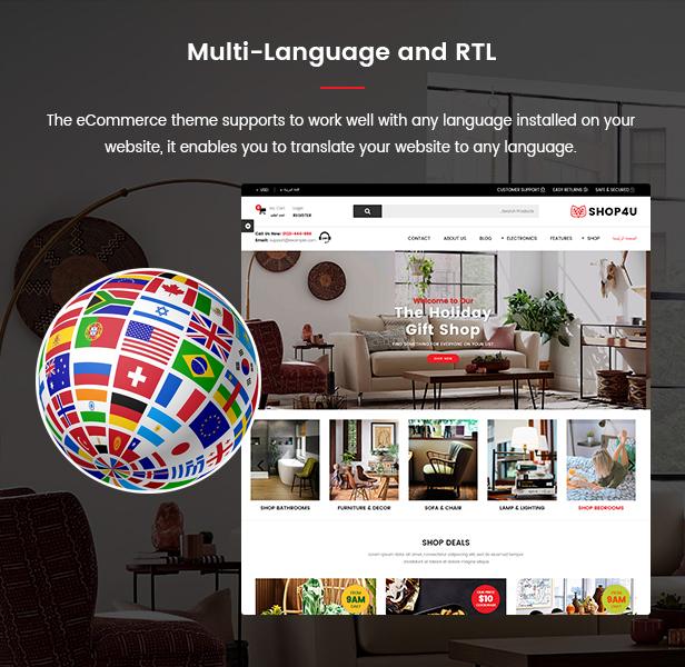 Shop4U - Store PrestaShop 1.7 eCommerce Theme - 10