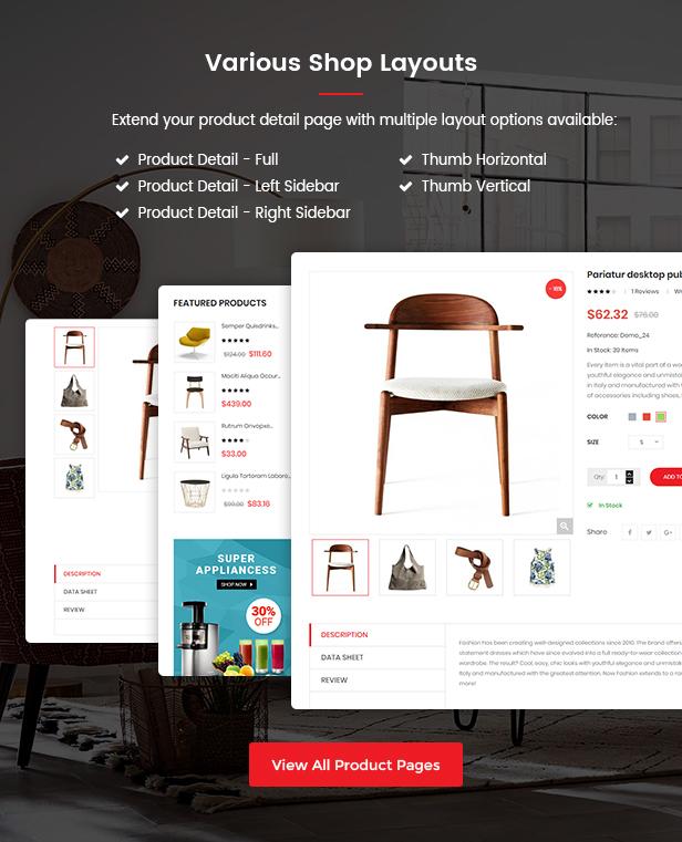Shop4U - Store PrestaShop 1.7 eCommerce Theme - 14