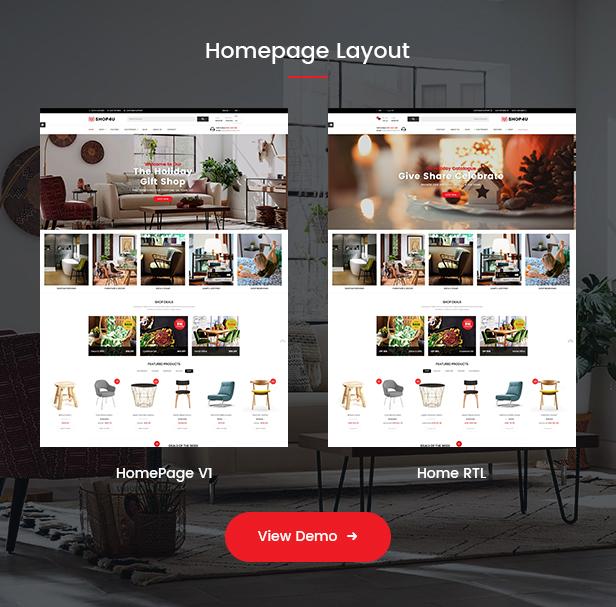 Shop4U - Store PrestaShop 1.7 eCommerce Theme - 2