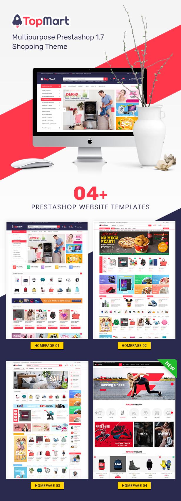TopMart - MultiPurpose Responsive PrestaShop Theme - 1