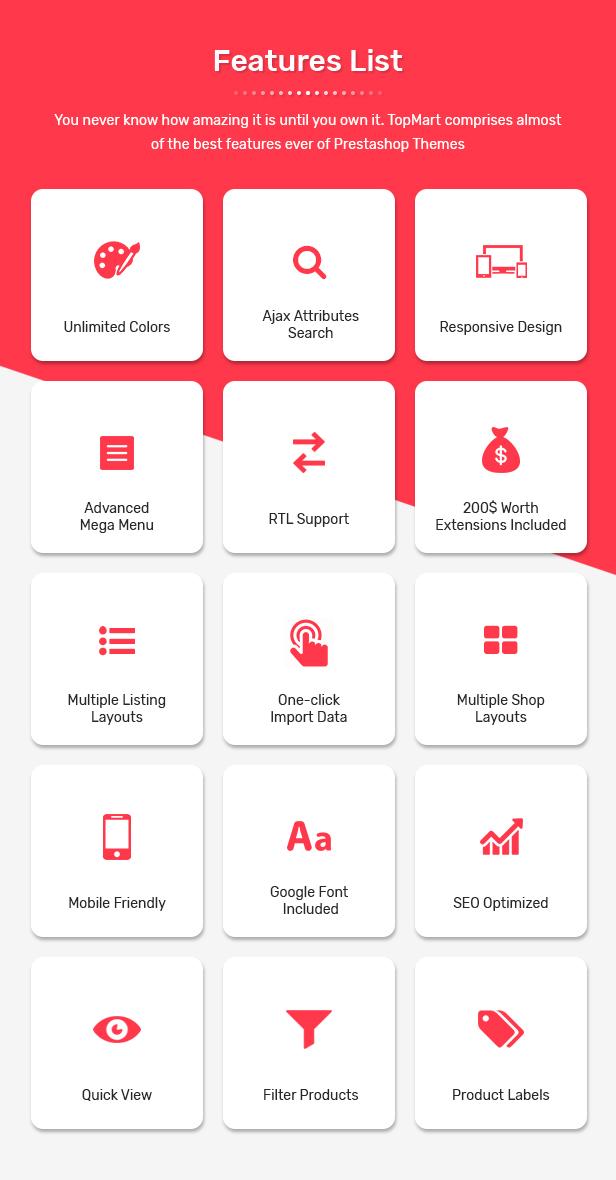 TopMart - MultiPurpose Responsive PrestaShop Theme - 2
