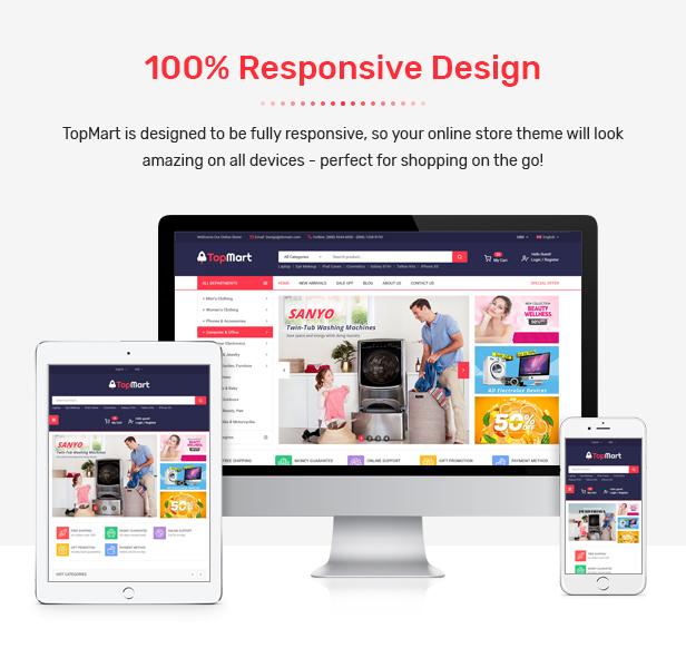 TopMart - MultiPurpose Responsive PrestaShop Theme - 3