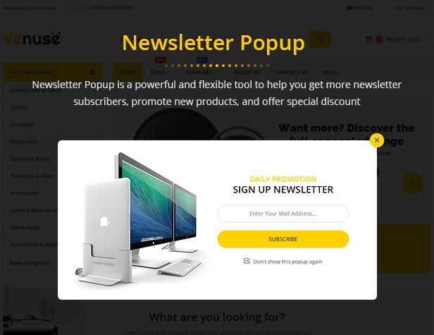 Venuse - Premium Responsive PrestaShop 1.7 Digital Theme - 10