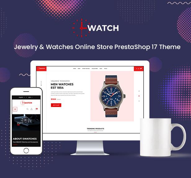 Watch - Multipurpose PrestaShop Theme - 1
