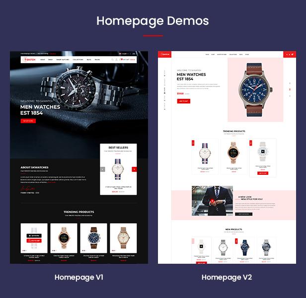 Watch - Multipurpose PrestaShop Theme - 2