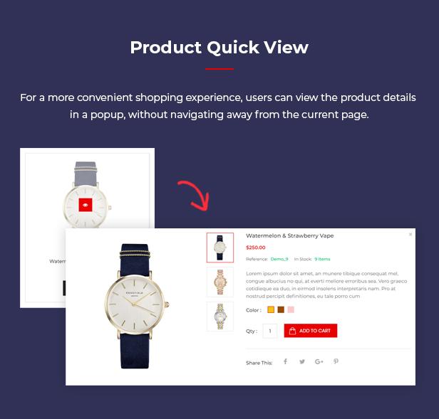 Watch - Multipurpose PrestaShop Theme - 6