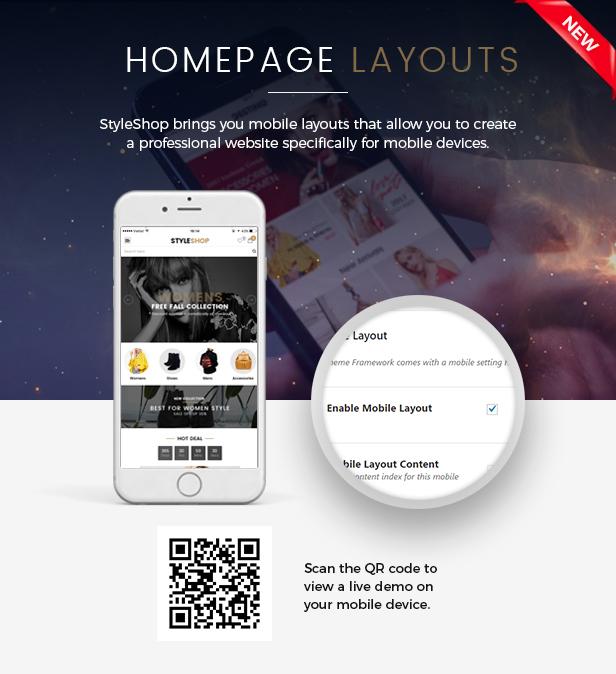 SW StyleShop - Responsive WooCommerce Theme
