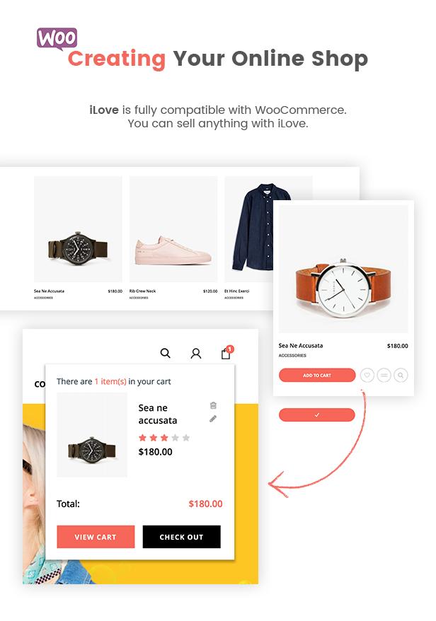 Woocommerce Integration - Ilove