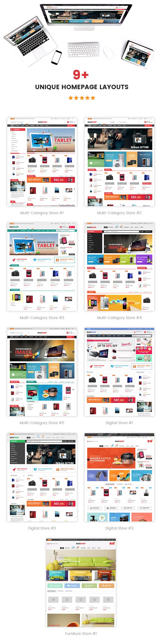 Maxshop - Homepage Styles