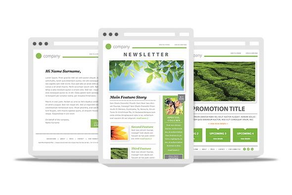 free newsletter html template